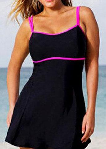Plus Size Push Up BathingSuit - esshe