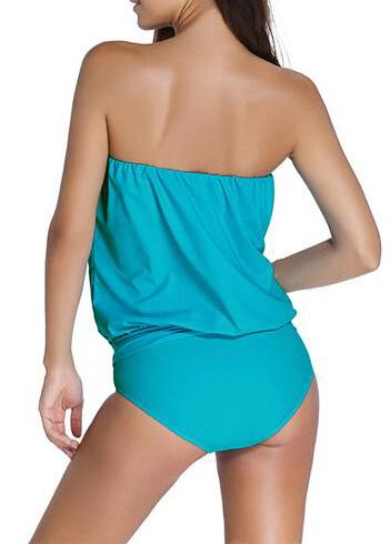 Black Beachwear Tankinis - fashionyanclothes