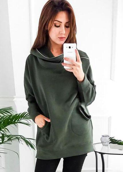 Zipper Loose Casual  LongSleeve Hoodie - fashionyanclothes