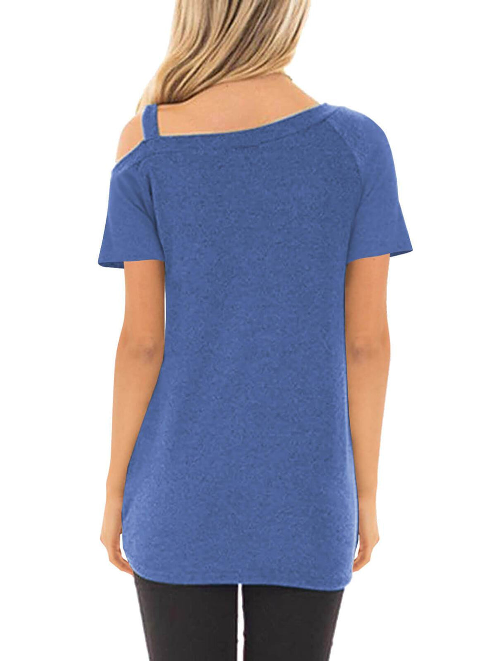 Short Sleeve Off Shoulder Tees - fashionyanclothes