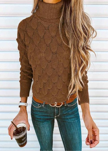 Fashionyan Solid Color Knit Sweater - fashionyanclothes