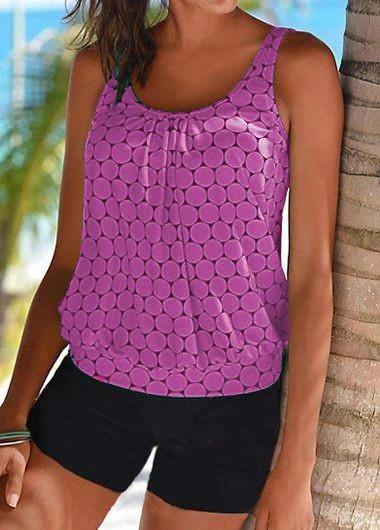 Fashion Polka Dot Swimwear - fashionyanclothes