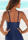 Plus Size Spaghetti Strap One Piece - fashionyanclothes