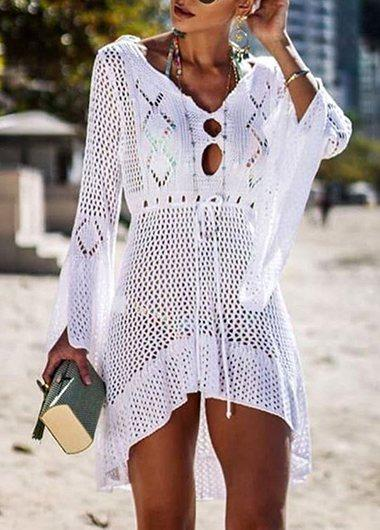 Hotsale Knitted Loose Beach Cover Up - fashionyanclothes