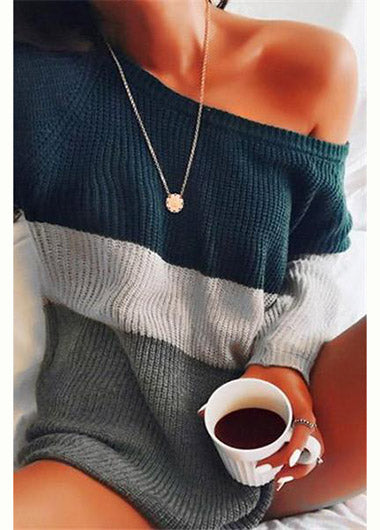 Knitted Loose Sweater - fashionyanclothes