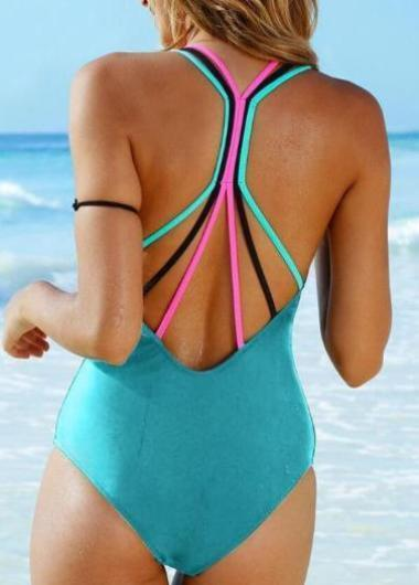 Push Up Padded Bathing Backless  Beachwear - esshe