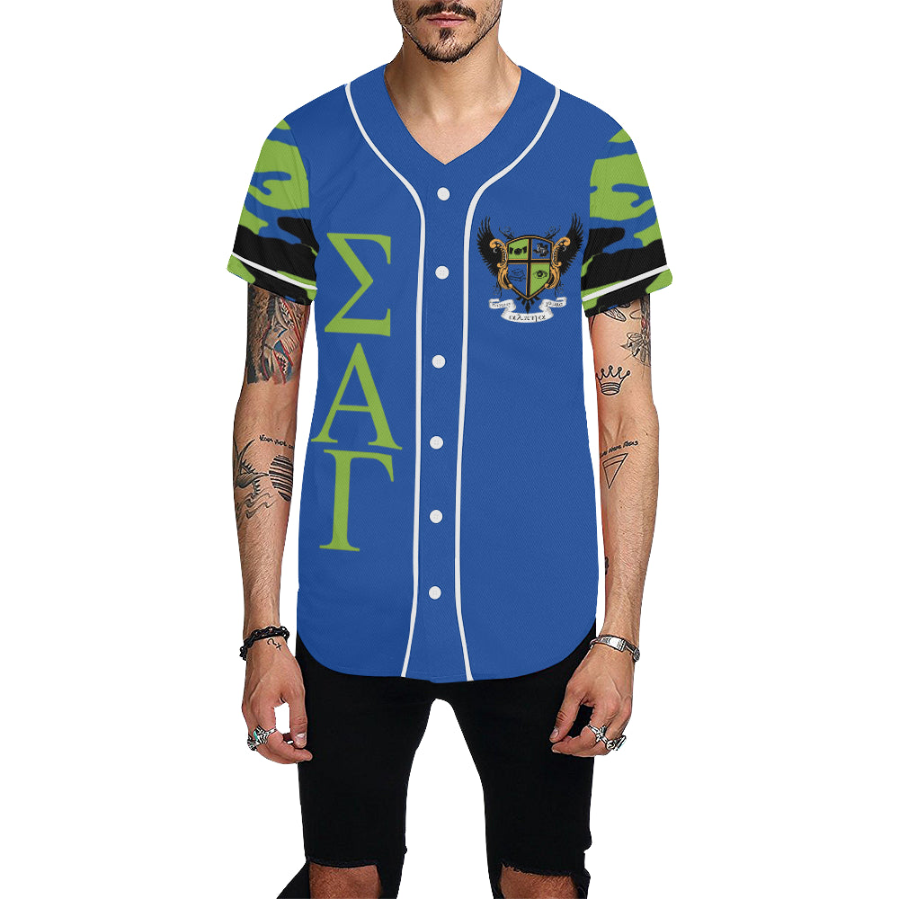 kronos All Over Print Baseball Jersey for Men (Model T50)
