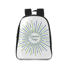 Load image into Gallery viewer, Gamma Rays School Backpack/Large (Model 1601)