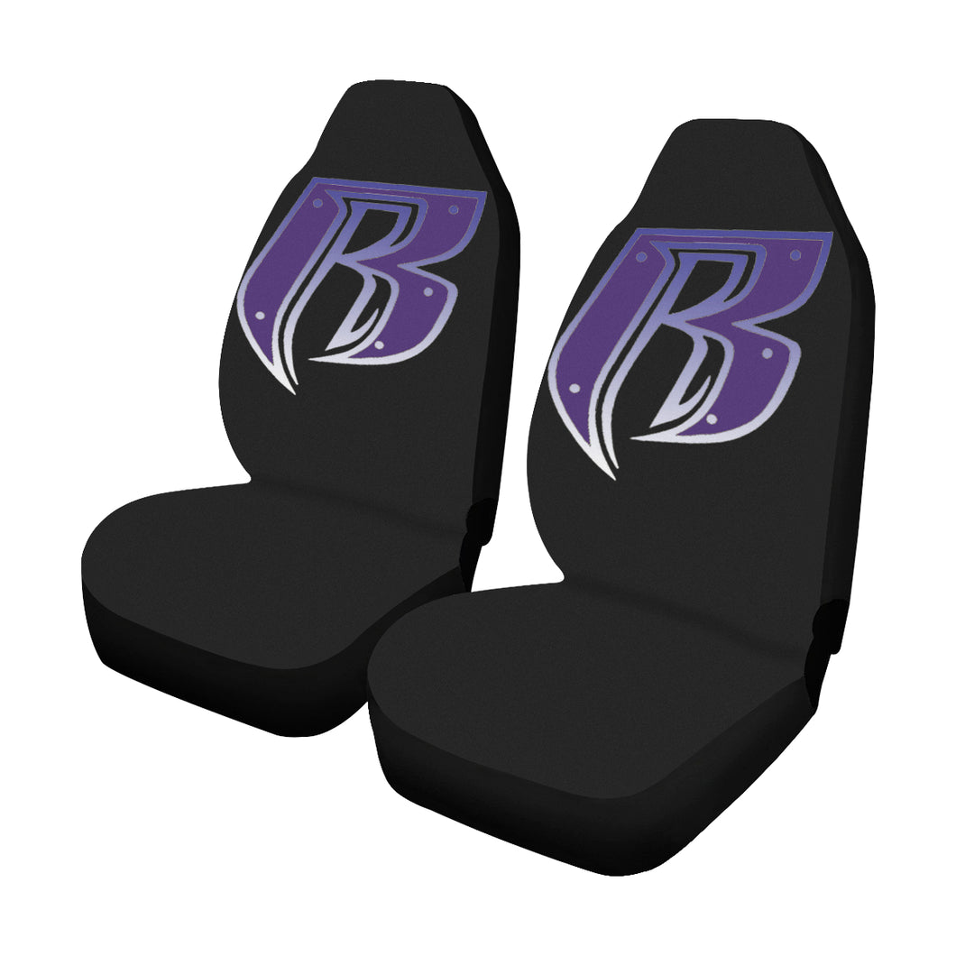 purple RR Car Seat Covers (Set of 2)