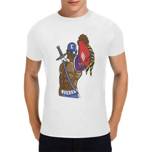Load image into Gallery viewer, pbs Men's Heavy Cotton T-Shirt (Plus-size)