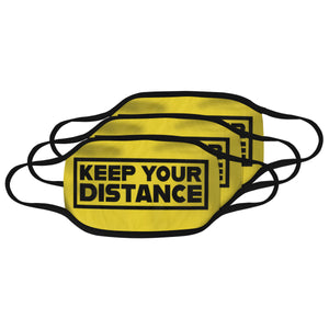 distance Mouth Mask (Pack of 3)