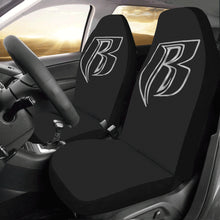 Load image into Gallery viewer, silver RR Car Seat Covers (Set of 2)