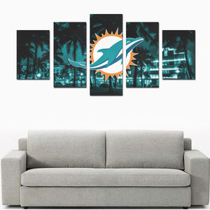 Miami Canvas Print Sets D (No Frame)