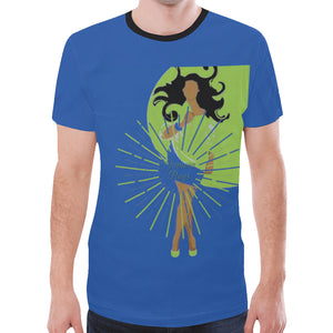 gamma ray shine New All Over Print T-shirt for Men (Model T45)