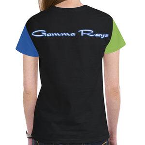 Gamma Rays New All Over Print T-shirt for Women (Model T45)