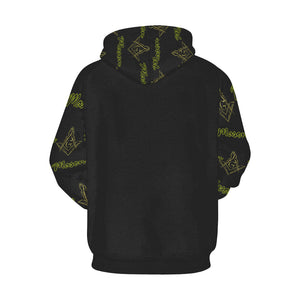 Mason All Over Print Hoodie for Men (USA Size) (Model H13)