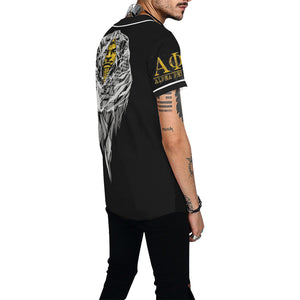Alpha All Over Print Baseball Jersey for Men (Model T50)