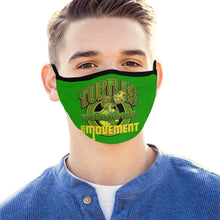 Load image into Gallery viewer, turtles Mouth Mask (Pack of 5)