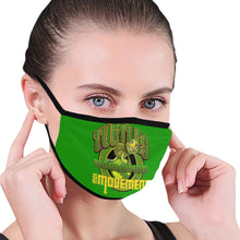 Load image into Gallery viewer, turtles Mouth Mask (Pack of 3)