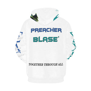 SAG Preacher All Over Print Hoodie for Men (USA Size) (Model H13)