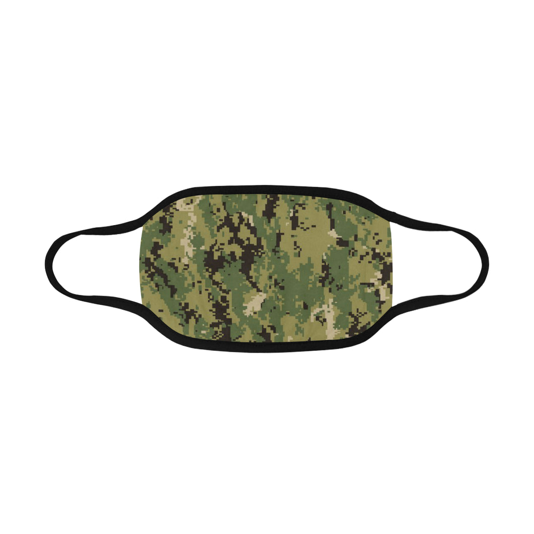 camo Mouth Mask