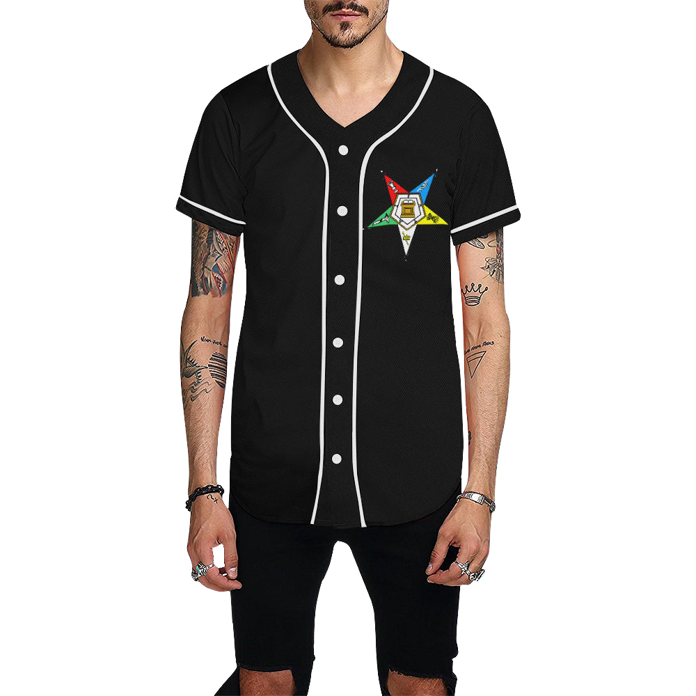 OES All Over Print Baseball Jersey for Men (Model T50)