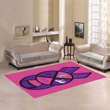 Load image into Gallery viewer, lambda sigma sigma Area Rug7'x5'