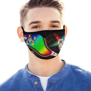 oes Mouth Mask (60 Filters Included)
