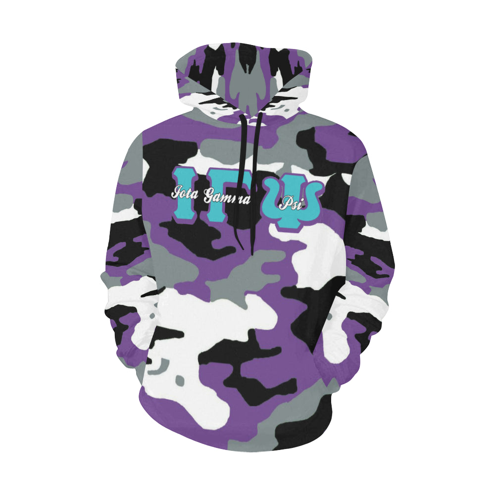 igp All Over Print Hoodie for Women (USA Size) (Model H13)