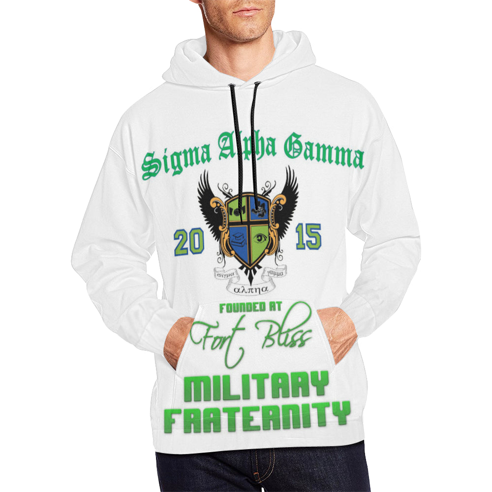 Ft Bliss All Over Print Hoodie for Men (USA Size) (Model H13)
