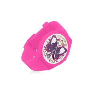 Alpha Gamma Phi Round Plastic Watch(Model 304)