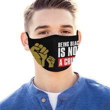 Load image into Gallery viewer, Black lives Mouth Mask (Pack of 5)