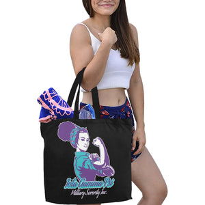 igp All Over Print Canvas Tote Bag/Large (Model 1699)