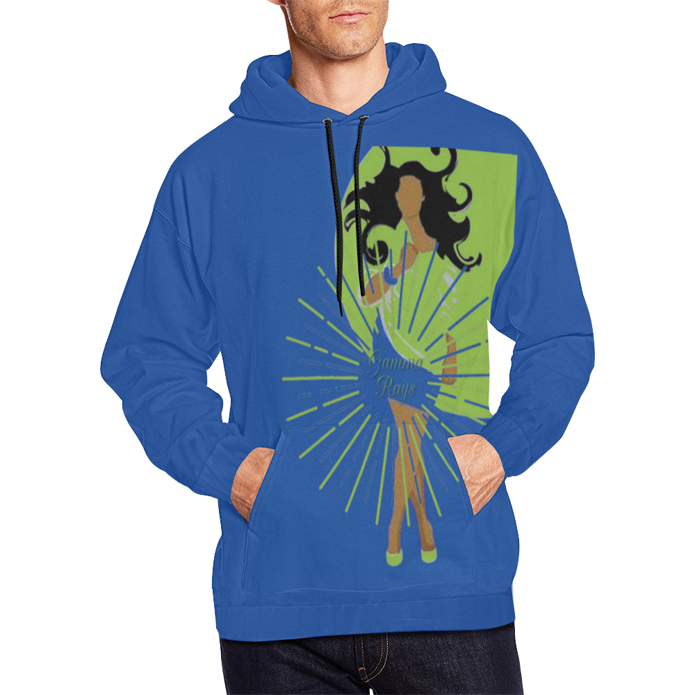 gamma ray shine All Over Print Hoodie for Men (USA Size) (Model H13)