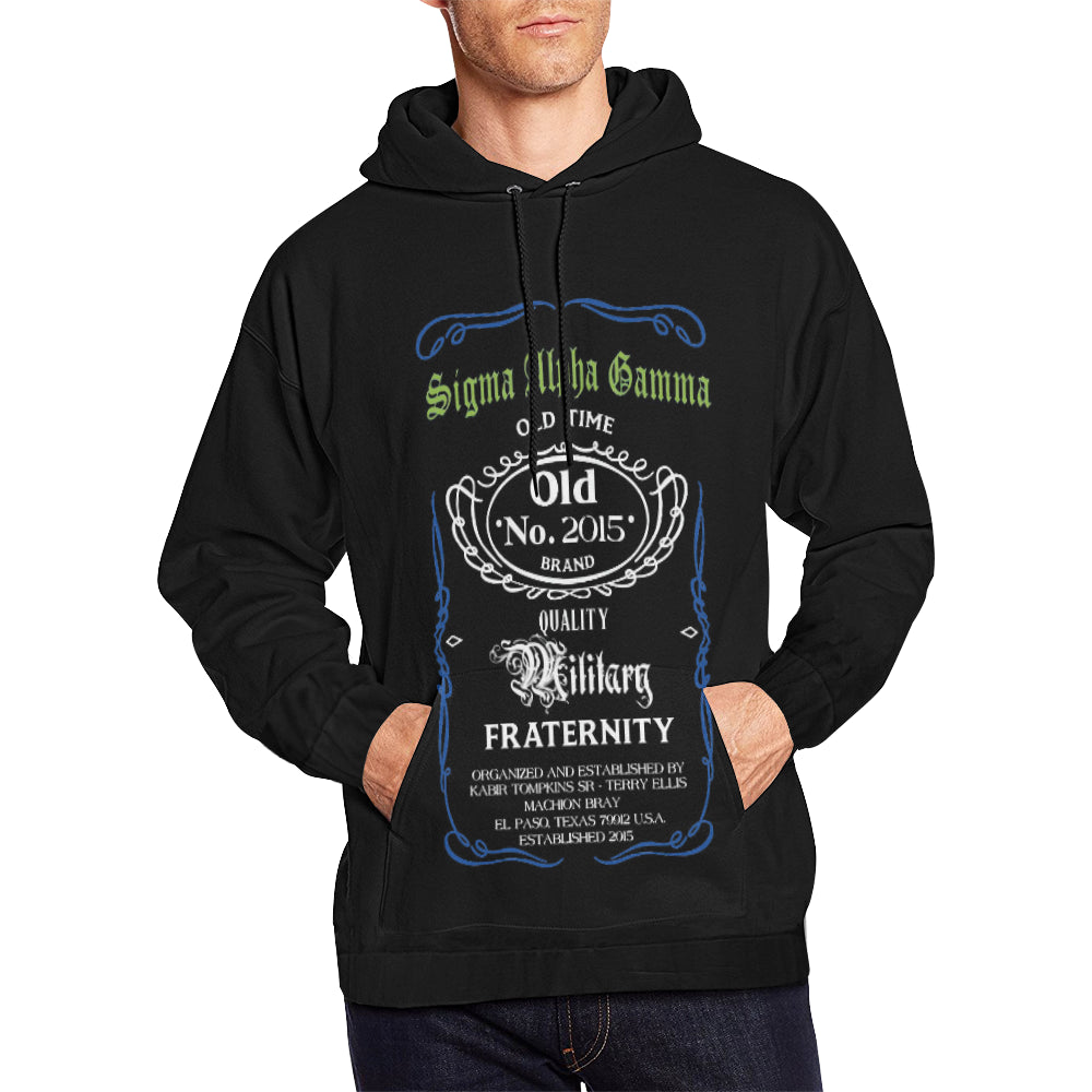 Old time All Over Print Hoodie for Men (USA Size) (Model H13)