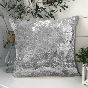 "Zeta Custom Sequin Pillow Case 18""x18"""