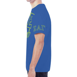 SAG New All Over Print T-shirt for Men/Large Size (Model T45)