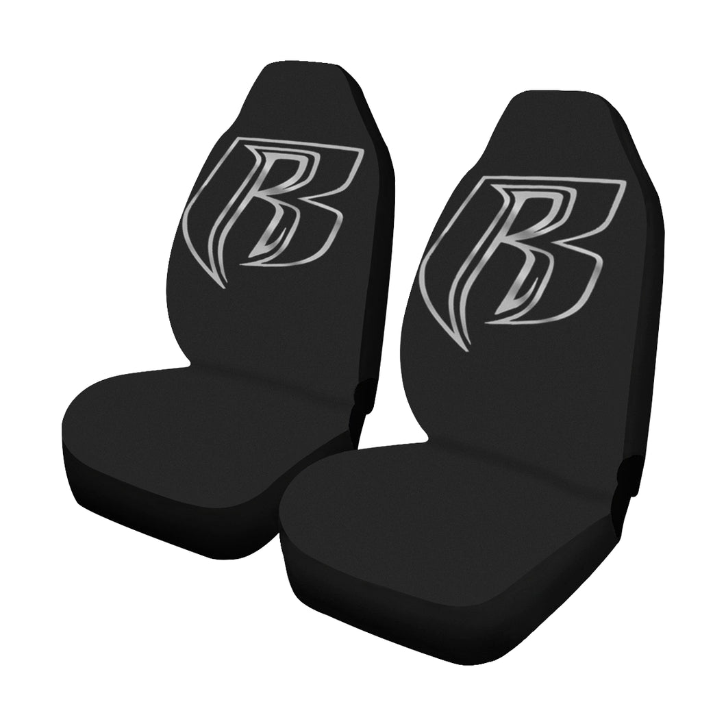 silver RR Car Seat Covers (Set of 2)