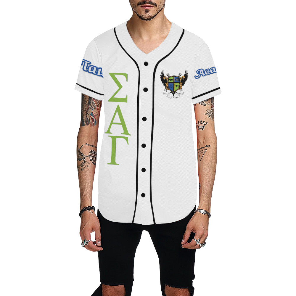 Acapella jersey All Over Print Baseball Jersey for Men (Model T50)