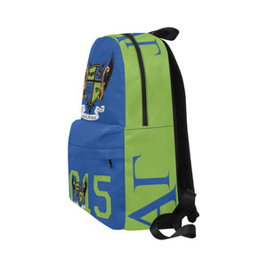 Blue and Green backpack Unisex Classic Backpack (Model 1673)