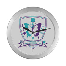 Load image into Gallery viewer, igp Silver Color Wall Clock