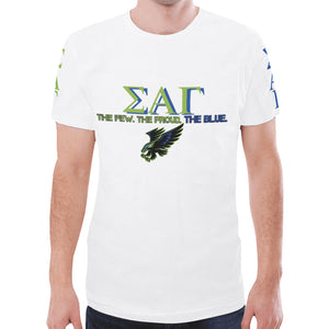 Sigma Alpha Gamma New All Over Print T-shirt for Men (Model T45)
