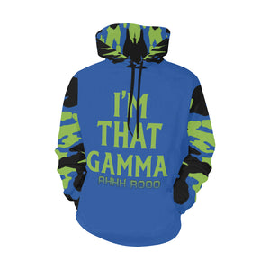 Sigma Alpha  Gamma All Over Print Hoodie for Men (USA Size) (Model H13)