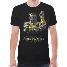 Load image into Gallery viewer, Alpha New All Over Print T-shirt for Men (Model T45)
