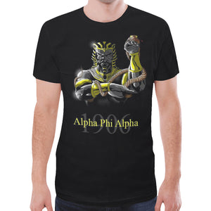Alpha New All Over Print T-shirt for Men (Model T45)