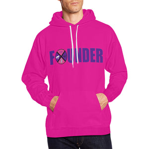 lss founder All Over Print Hoodie for Men (USA Size) (Model H13)