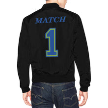 Load image into Gallery viewer, Match All Over Print Bomber Jacket for Men (Model H19)