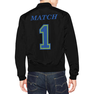 Match All Over Print Bomber Jacket for Men (Model H19)