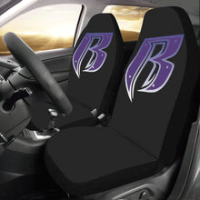 Load image into Gallery viewer, purple RR Car Seat Covers (Set of 2)