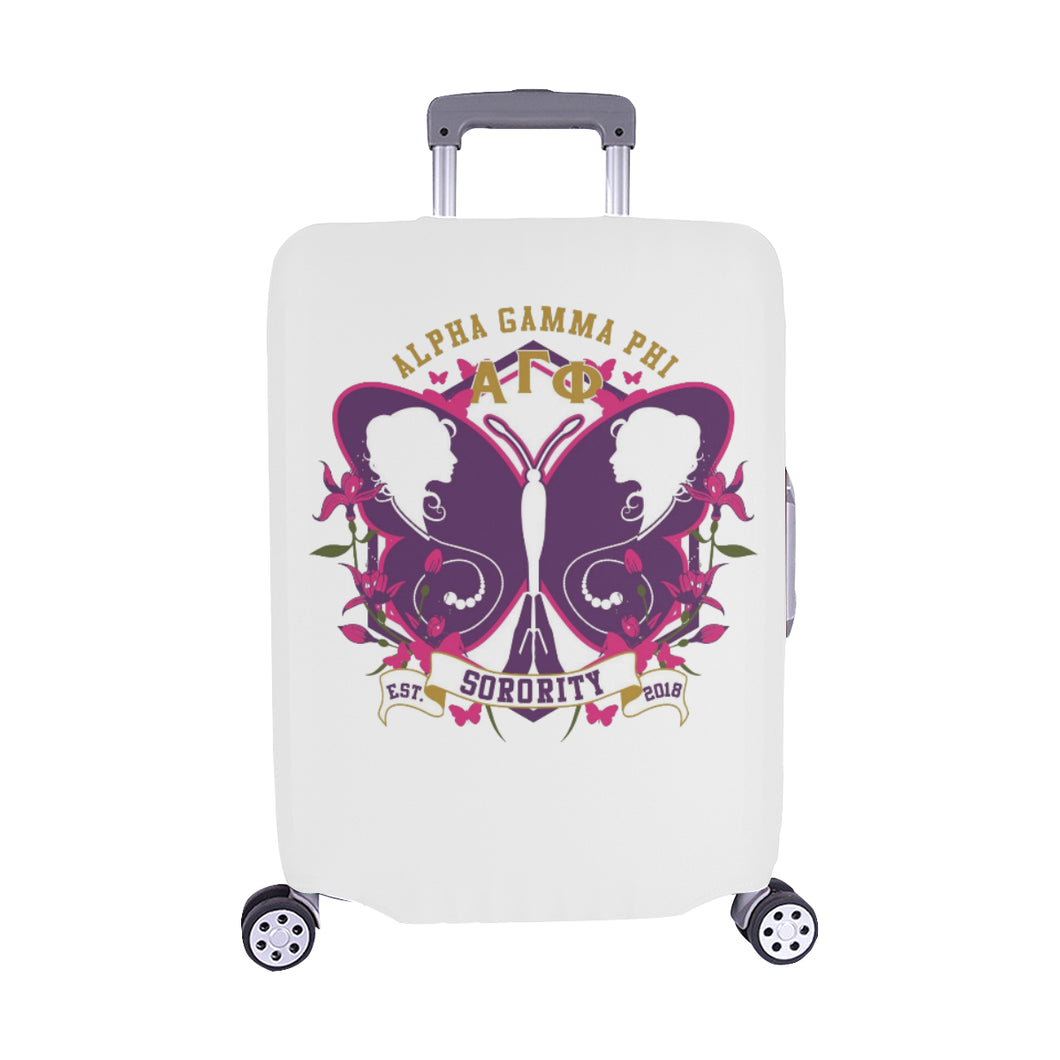 Alpha Gamma Phi Luggage Cover/Medium 28.5'' x 20.5''